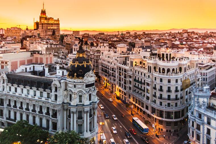 Pacote para Madrid