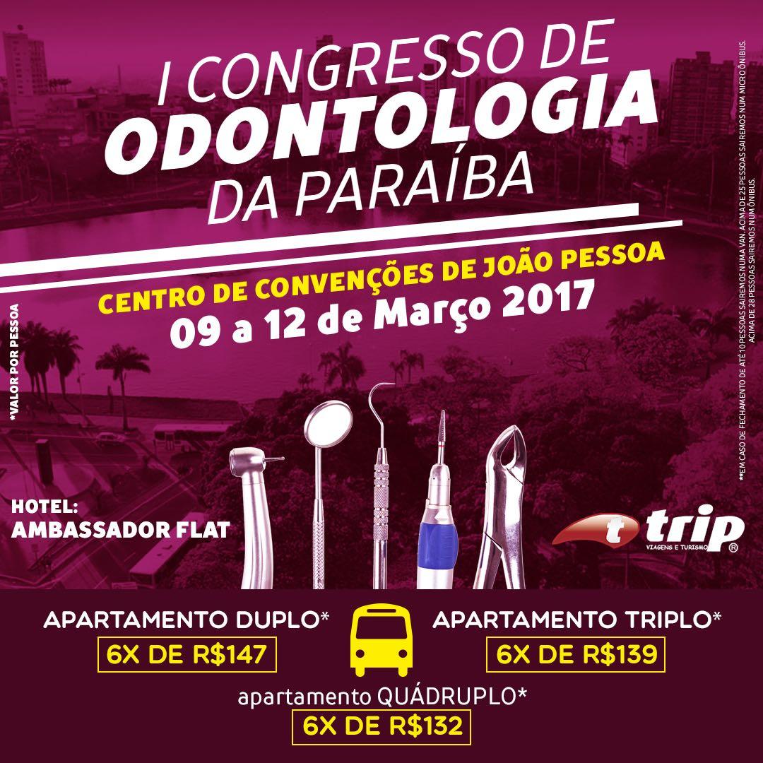 Congresso de Odontologia em Jampa